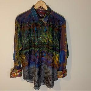 Robert Graham Limited Edition Button Down Shirt